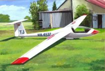 KP Model Grob Astir CS-77 HA-4537 Hungary makett
