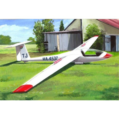 KP Model Grob Astir CS-77 HA-4537 Hungary makett