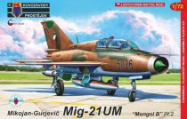 "KP Model MiG-21UM ""Mongol-B"" Pt.2 makett"
