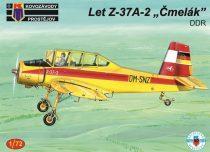 KP Model Let Z-37A-2 Cmelak DDR makett