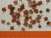Model Scene Maple - dry leaves red colour (juhar)