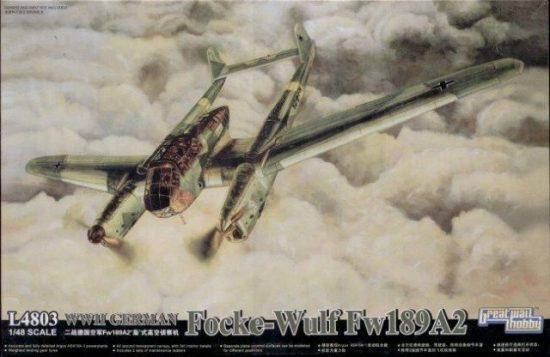 Great Wall Hobby Focke-Wulf Fw 189 A-2 makett