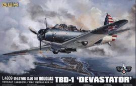 Great Wall Hobby Douglas TBD-1 'Devastator' , VT-6 at Wake Island 1942