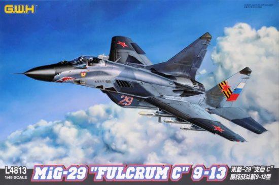 "Great Wall Hobby Mikoyan MiG-29 9-13 ""Fulcrum C"" Late Type makett"