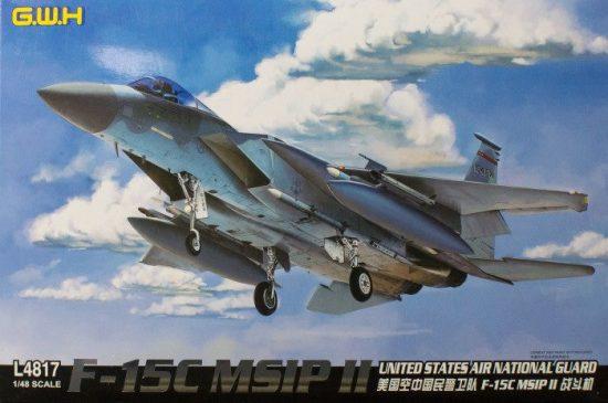 Great Wall Hobby F-15C MSIP II makett