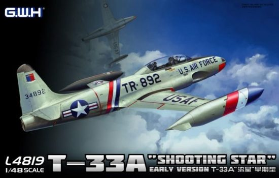 Great Wall Hobby T-33A Early Version makett