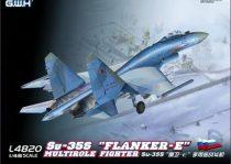 Great Wall Hobby Sukhoi Su-35S Flanker E makett