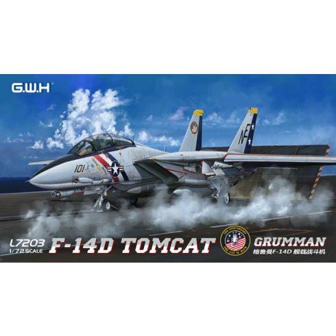 Great Wall Hobby Grumman F-14D Tomcat makett