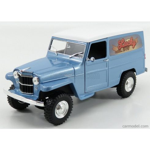 LUCKY DIECAST JEEP WILLYS STATION WAGON 1954