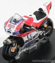 SPARK-MODEL DUCATI GP17 TEAM DUCATI N 99 TBC RACE MOTOGP 2017