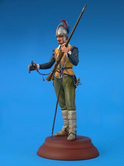 MiniArt Netherlands Musketeer XVII Century