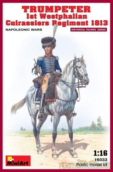 MiniArt 1st Westphalian Cuirassiers Regiment 1813