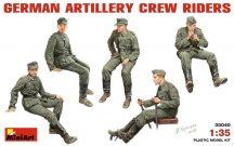 MiniArt German Artillery Crew Riders
