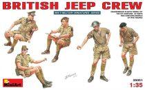 MiniArt Britische Jeep Crew