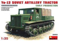 MiniArt Ya-12 Soviet Artillery Tractor Early makett