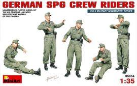 MiniArt German SPG Crew Riders