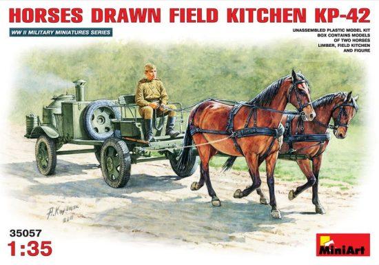 MiniArt Horses Drawn Field Kitchen
