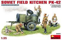 MiniArt Soviet Field Kitchen PK-42