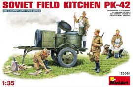 MiniArt Soviet Field Kitchen PK-42