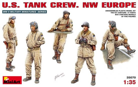 MiniArt US Tank Crew NW Europe