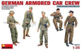 MiniArt German Armored Car Crew