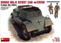 MiniArt Dingo MkII Scout Car With Crew makett