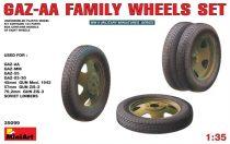 MiniArt GAZ-AA Family Wheels set