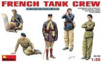 MiniArt French Tank Crew