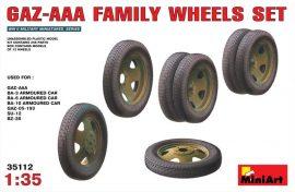 MiniArt GAZ-AAA Family Wheels set