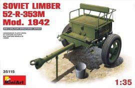 MiniArt Soviet Limber 52-R-353M Mod.1942