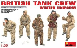 MiniArt British Tank Crew Winter Uniform