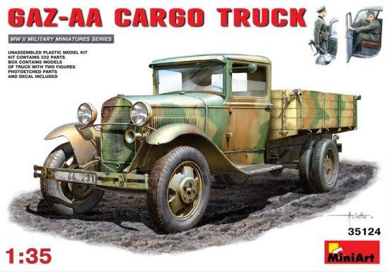 MiniArt GAZ-AA Cargo Truck