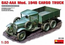 MiniArt GAZ-AAA Mod. 1940 Cargo Truck makett