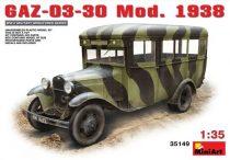 MiniArt GAZ-03-30 Mod.1938 makett