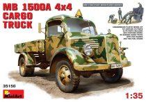 MiniArt MB L 1500 A 4x4 Cargo Truck makett