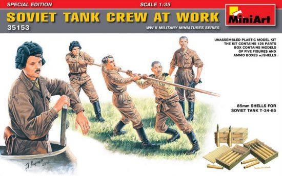 MiniArt Soviet Tank Crew at Work Special Edition