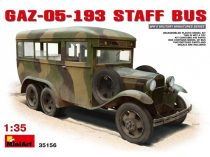 MiniArt GAZ-05-193 Staff Bus