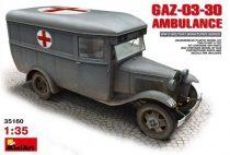 MiniArt GAZ-03-30 Ambulance makett