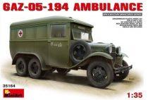 MiniArt GAZ-05-194 Ambulance