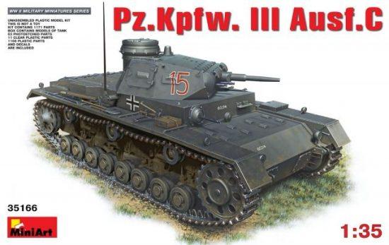 MiniArt Pz.Kpfw.3 Ausf.C makett