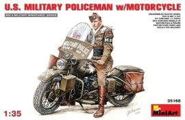 MiniArt U.S.Millitary Policeman with Motorcycle