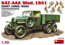 MiniArt GAZ-AAA Cargo Truck Mod. 1941 makett