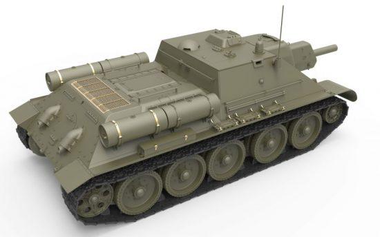 MiniArt SU-122 Initial Production w/Full Interior