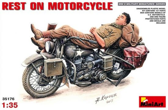 MiniArt Rest on Motorcycle