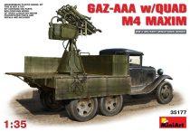 MiniArt GAZ-AAA s/Quad M-4 Maxim makett