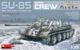 MiniArt SU-85 Mod.1943 (Early) w/Crew