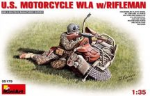 MiniArt U.S.Motorcycle WLA with Rifleman