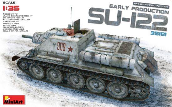 MiniArt SU-122 (Early Production) makett
