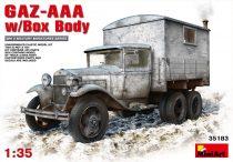 MiniArt GAZ-AAA w/Box Body makett