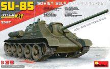 MiniArt SU-85 Mod.1943(Mid Production) w/Full Interior